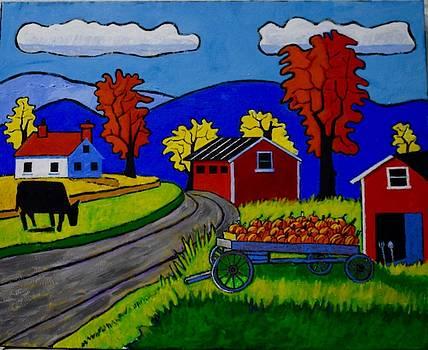 Pumpkin Farm by Nicholas Martori