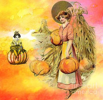 Pumpkin Harvest  by Tammera Malicki-Wong