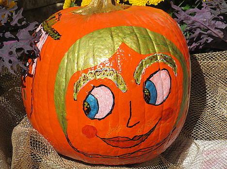 Pumpkin - Painted by Marie Jamieson