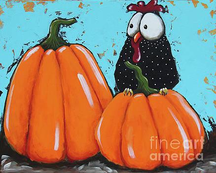 Pumpkin Season by Lucia Stewart