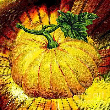Pumpkin Time 2  by Tammera Malicki-Wong