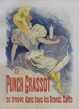 Punch Grassot, 1895 vintage french poster by Jules Cheret