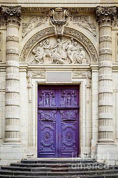 Brian Jannsen - Purple Doors to Saint Etienne du-Mont