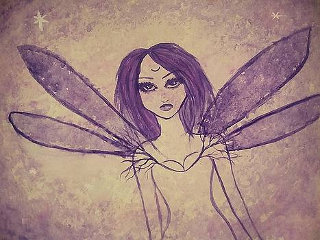 Purple Fairy  by Vale Anoa'i