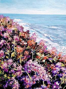 Purple landscape by Ray Khalife
