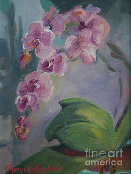 Purple Orchid by Cheryl Yellowhawk
