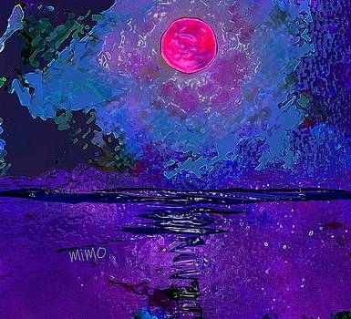 Purple Reflection by Mimo Krouzian