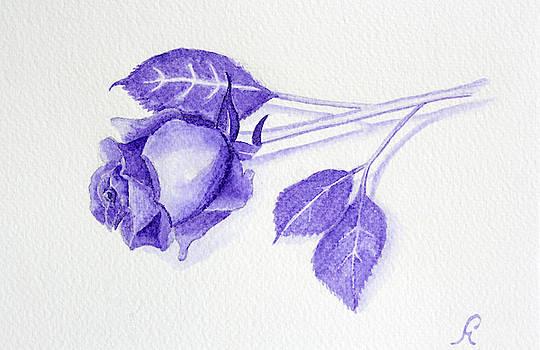 Purple Rose by Gemma Beynon