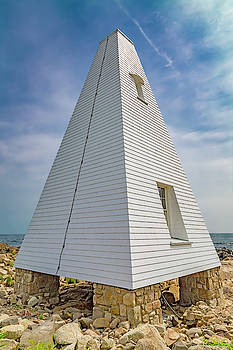 Pyramid Bell Tower Maine by Betsy Knapp