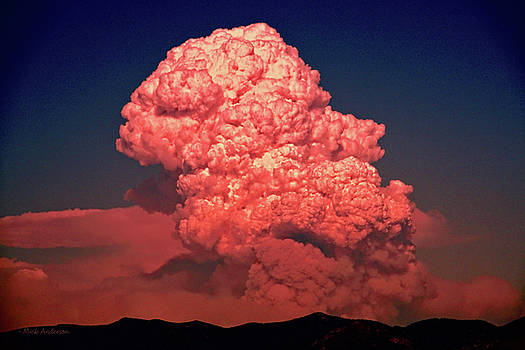 Pyrocumulus Explosion by Mick Anderson