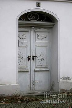 Quaint German Door by Laura Birr Brown