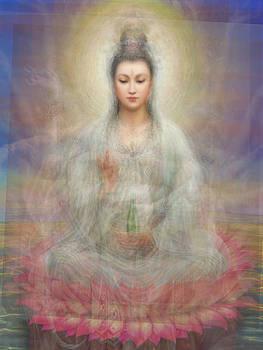 Quan Yin Buddha by Tin Tran