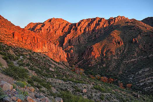 Chance Kafka - Queen Creek Canyon Last Light