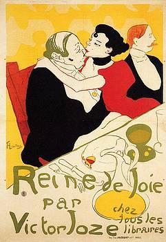 Queen of Joy - 1892 - PC by Henri de Toulouse-Lautrec