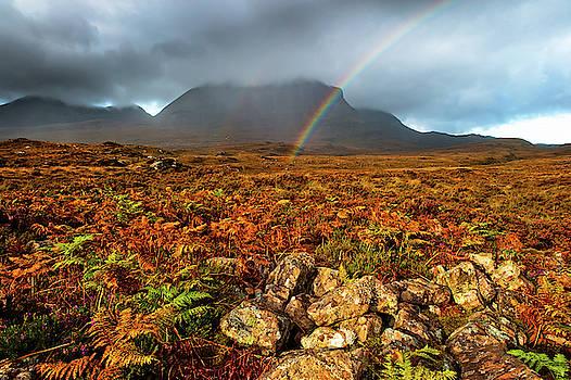 David Ross - Quinag rainbow, Sutherland, Scottish Highlands