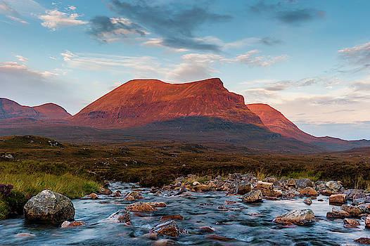 David Ross - Quinag Sunrise, Sutherland