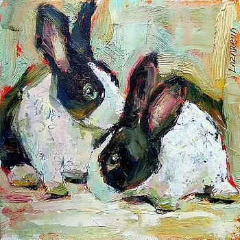 Rabbits by Valerie Lazareva