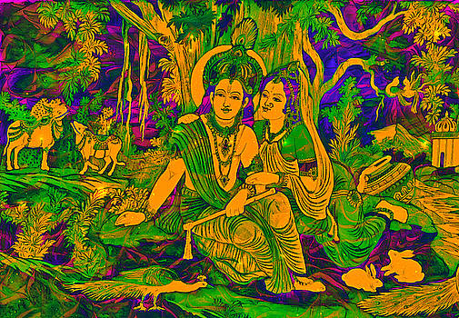Bliss Of Art - Radhe Krishna
