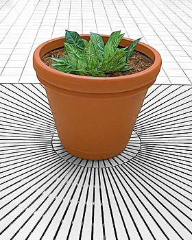 Radiation - Pot and Tile Design by Mitch Spence