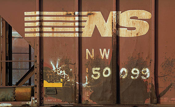 Railroad Car NW 50099 Color by Joseph C Hinson