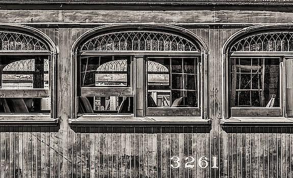 Railroad Car Window by Jeffrey Klug