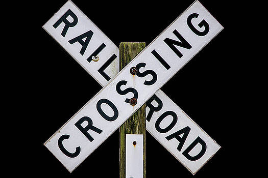 Railroad Crossing 2 by Lisa Bell