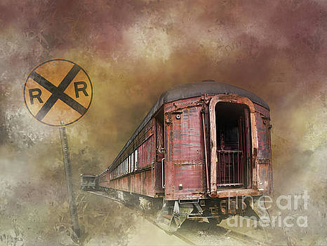 Railroad Crossing by Diane LaPreta