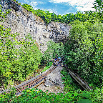 Railroad Day at Natural Tunnel State Park by Greg Booher