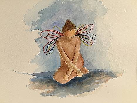 Rainbow Angel by Marita McVeigh