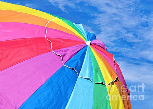 Diann Fisher - Rainbow Brella Art