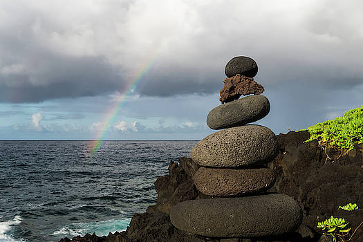 William Dickman - Rainbow Cairn