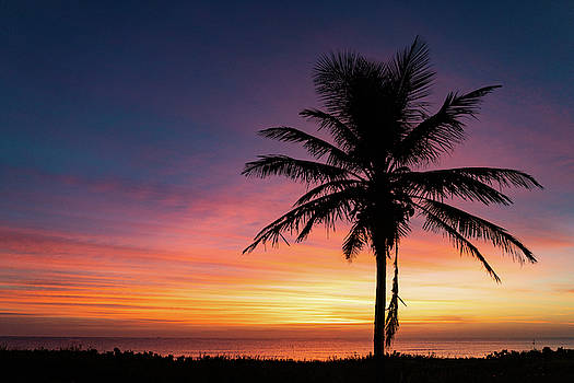 Rainbow Cloud Dawn Delray Beach Florida by Lawrence S Richardson Jr