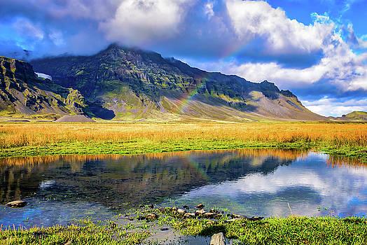 Rainbow in Iceland by John Wilkinson