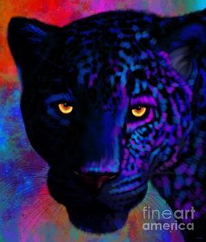 Rainbow Jaguar by Nick Gustafson