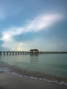 Rainbow Pier by Joey Waves