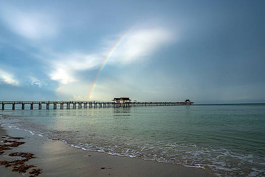 Rainbow Pier2 by Joey Waves