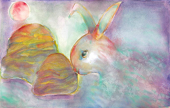 Rainbow Rabbit by Naike Jahgan