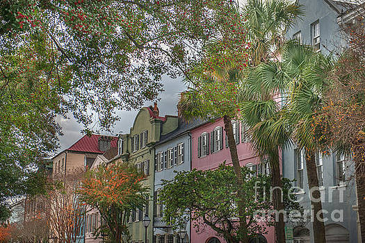Dale Powell - Rainbow Row Colorful Homes - Charleston South Carolina