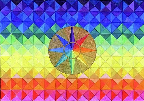 Rainbow Star by Sandy Thurlow