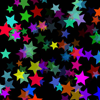 Rainbow Stars by Abagail Wells