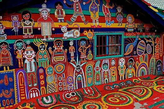 Rainbow Village 7 by Russ Barneveld