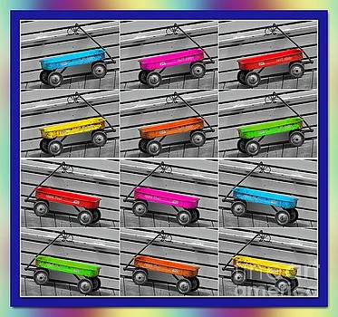Rainbow Wagons by Stacey Brooks