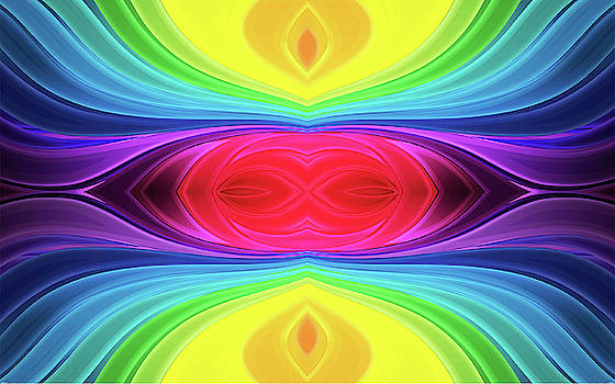 Rainbowed 1c by Bruce Iorio