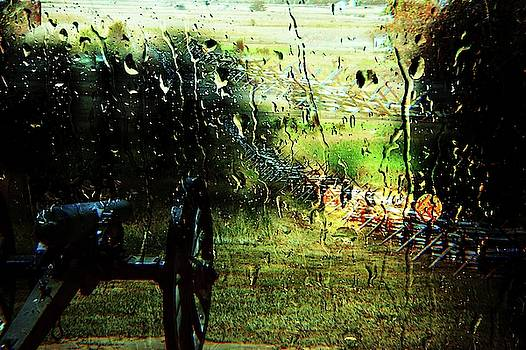 Rainy Day in Gettysburg by Yvonne Sewell