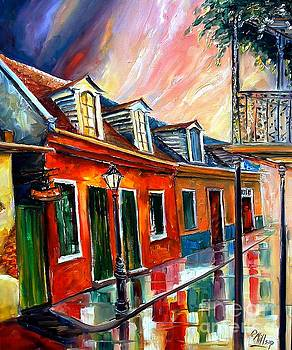 Rainy Day on Toulouse Street by Diane Millsap