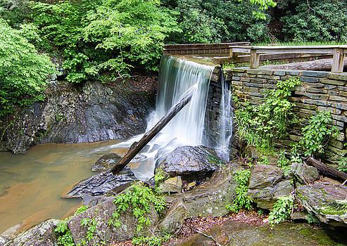 Rakes Mill Pond Waterfall by Norma Brandsberg
