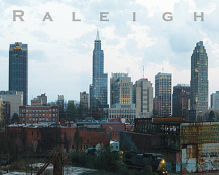 Raleigh Skyline photo 16 x 20 ratio by Tommy Midyette