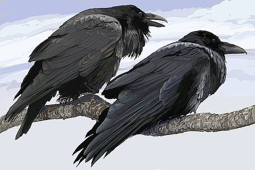 Raven Chatter by Pam Little