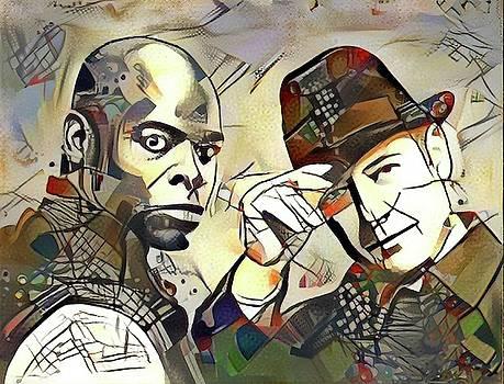 Raymond and Dembe by Paul Van Scott