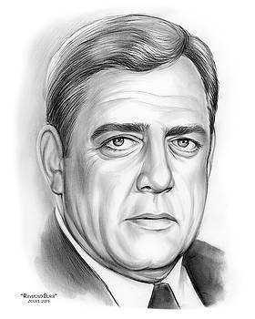Raymond Burr by Greg Joens